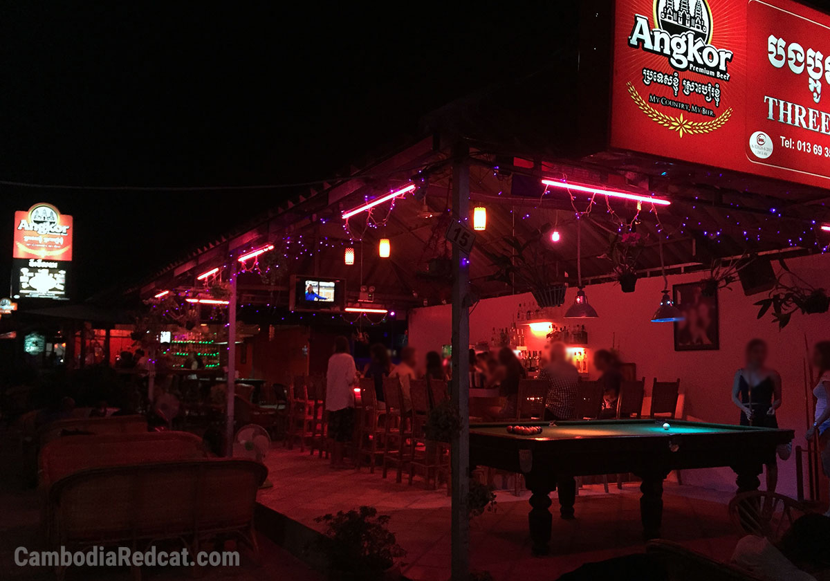 Bar with Girls in Sihanoukville