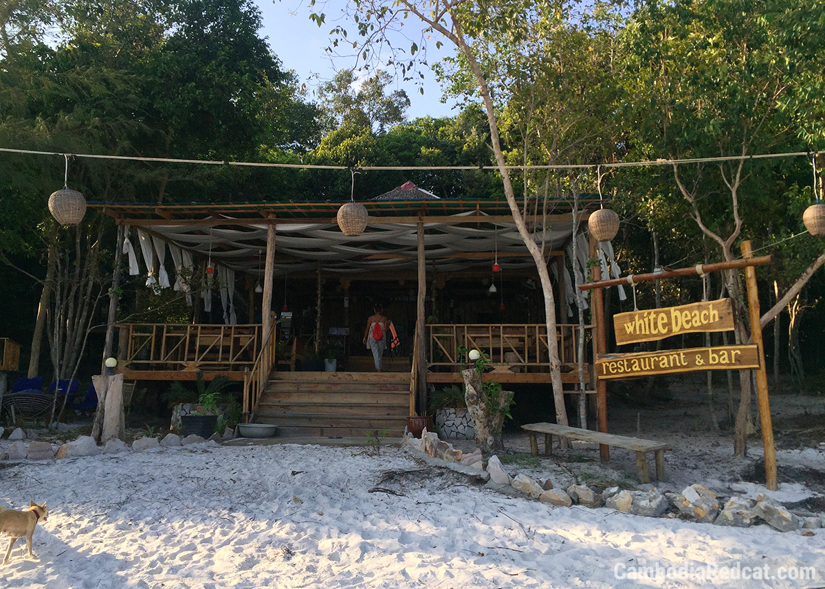 Beach Bar à Koh Rong