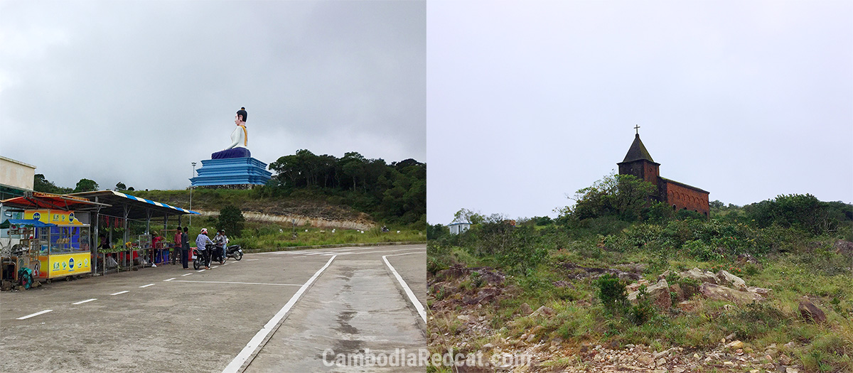 Bokor Mountain Buddha et Chapelle