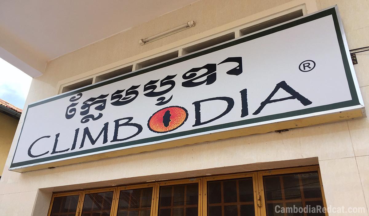 Climbing in Kampot