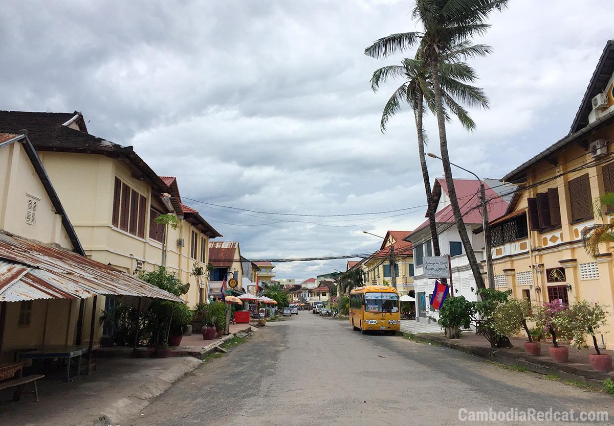 Kampot Massage Street