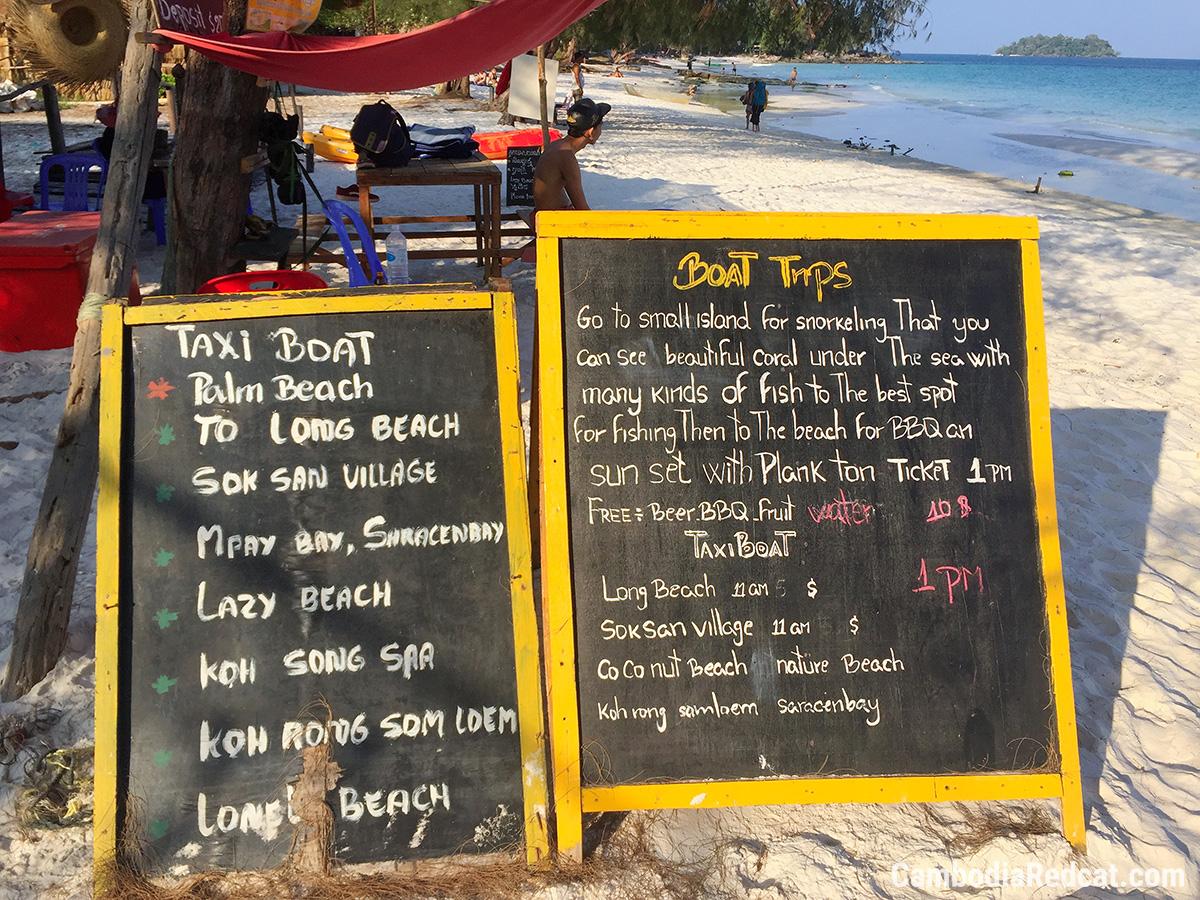 Koh Rong Island Hopping