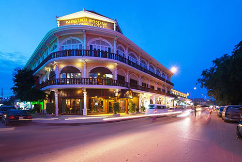 Ladyboy Hotel in Siem Reap near Temple Street