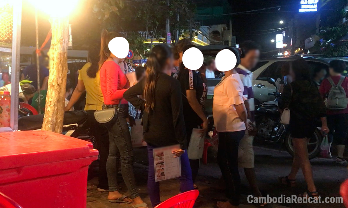 Massage Girls in Siem Reap