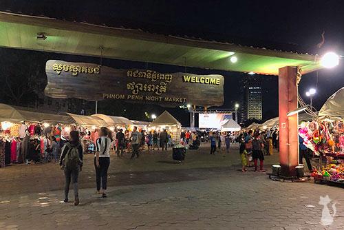 Marché de Nuit à Phnom Penh