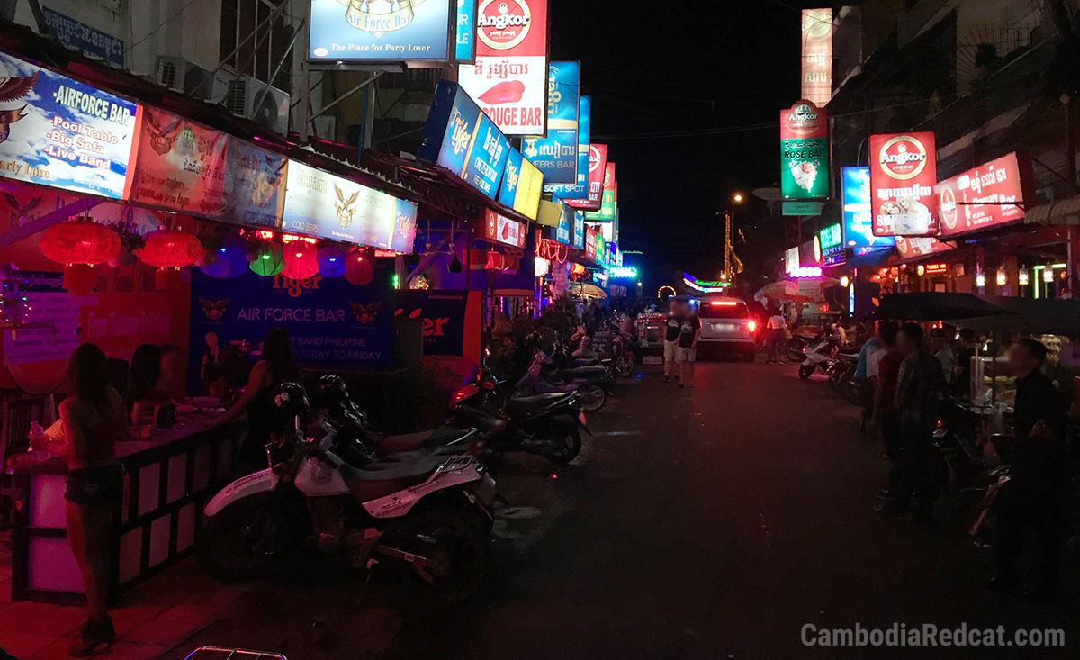 Phnom Penh Red Light Area