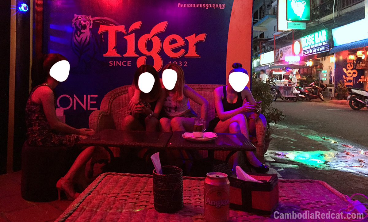 Phnom Penh Red Light District