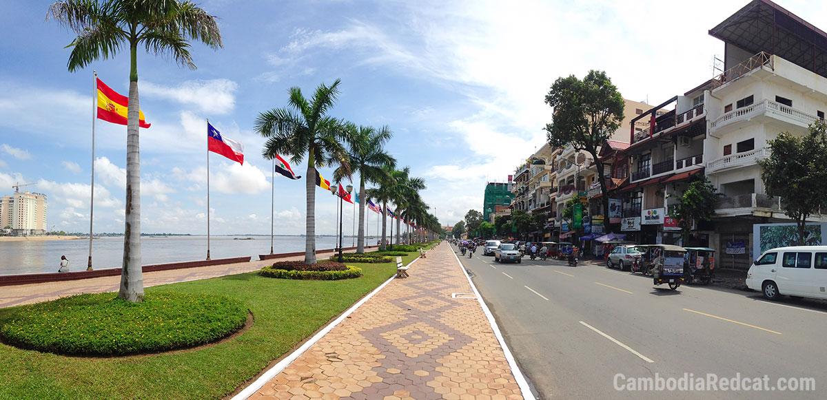 Phnom Penh River Promenade