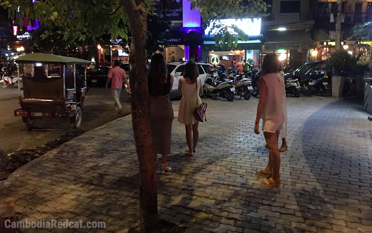 Putes de la Rue à Phnom Penh
