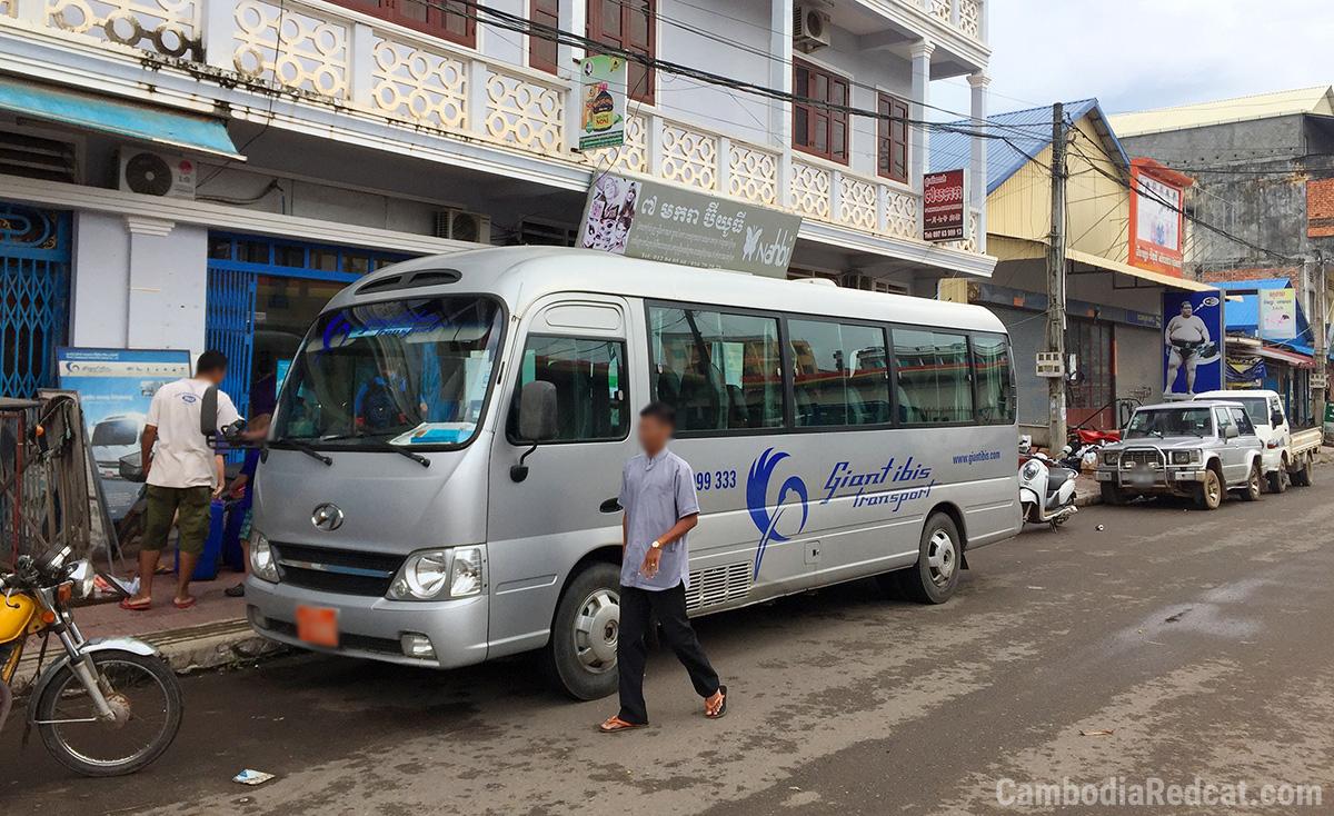 Phnom Penh to Kampot Mini Bus