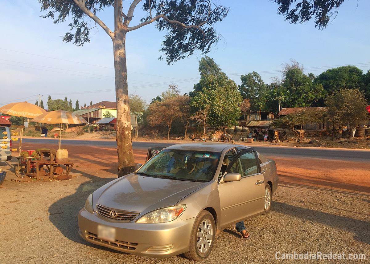 Phnom Penh to Sihanoukville Taxi