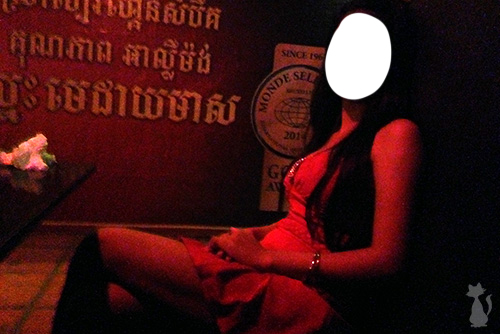 Sexy Girl in Siem Reap