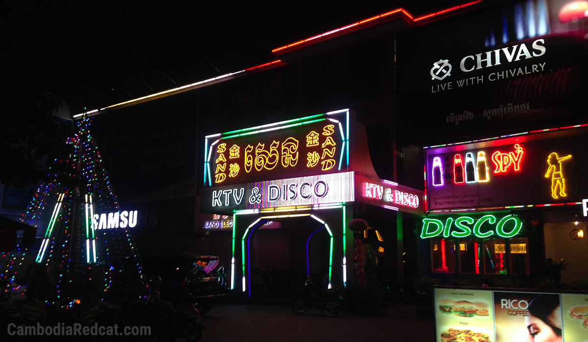Siem Reap Ladyboy Night Club