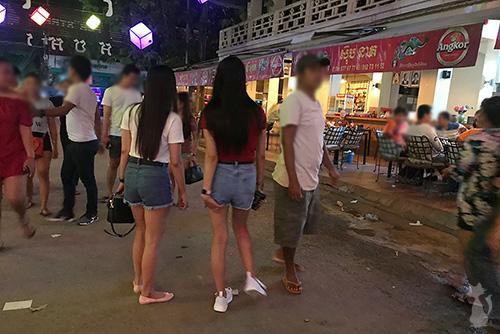 Siem Reap Street Hookers