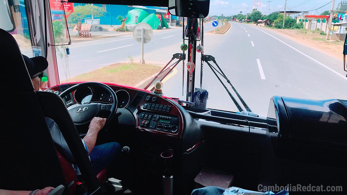 Siem Reap à Sihanoukville Autobus