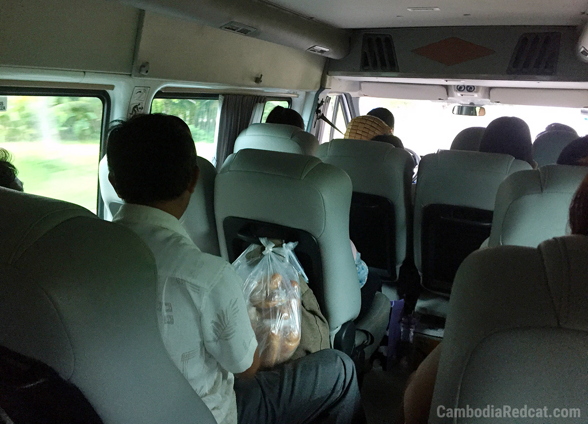 Siem Reap to Sihanoukville Mini Bus
