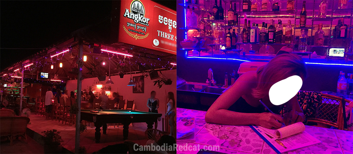 Sihanoukville Square Girly Bars