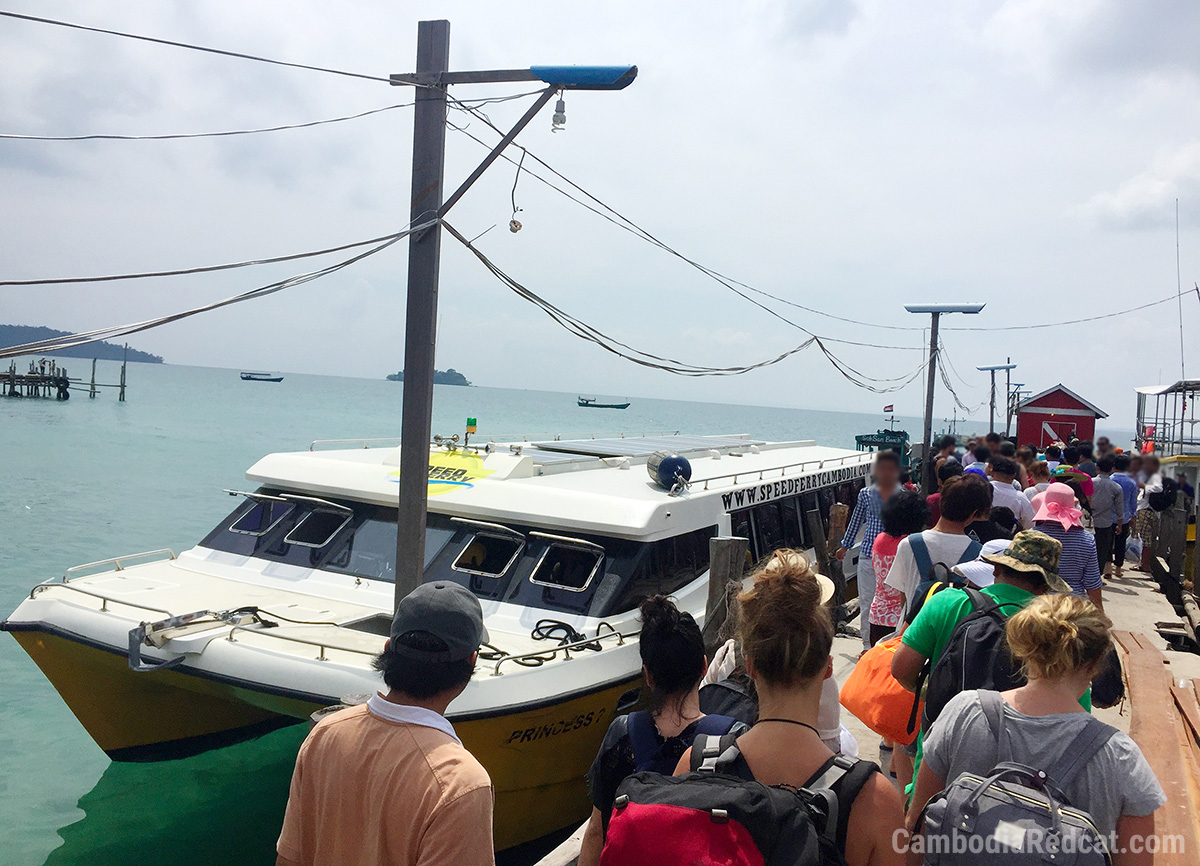 Sihanoukville to Koh Rong