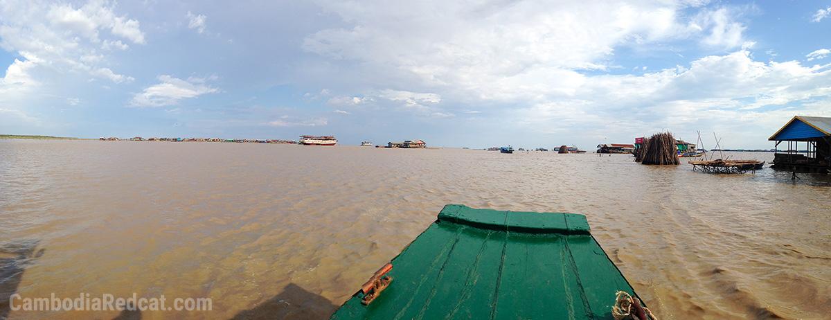 Tonle Sap à Siem Reap